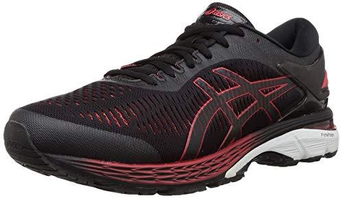 Asics GEL-Kayano 25 [1011A029-004] 2E Wide Men Running Shoes Black/Red-300