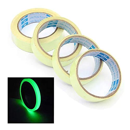 Groß für die Lagerung In The Dark Wasserdicht Band Langnachleuchtende Wiederverwendbare Luminous Glow (Color : 2M)