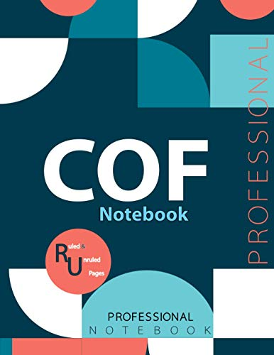 "COF Notebook, Examination Preparation Notebook, Study writing notebook, Office writing notebook, 140 pages, 8.5"" x 11"", Glossy cover"