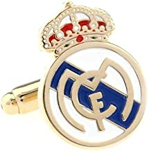 Real Madrid Club de Fútbol soccer Cufflinks Cuff Links