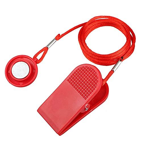 JEDEW Laufband Sicherheitsschlüssel, Universal Laufband Magnet Sicherheitsschloss Fitness Kit für alle NordicTrack, Proform, Sole, Weslo, Weider, Epic, Freemotion und Healthrider Laufbänder