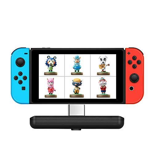 Amiibo Cards Collector/Bank for Animal Crossing/Super Mario/ The Legend of Zelda: Breath of the Wild and so on, Supporting for most Nintendo Switch Games- Amiiki