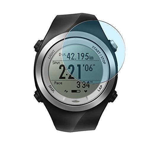 Vaxson 3 Stück Anti Blaulicht Schutzfolie, kompatibel mit Epson Runsense SF-710 Smartwatch Hybrid Watch, Bildschirmschutzfolie TPU Folie Displayschutz [nicht Panzerglas Hülle Hülle ]