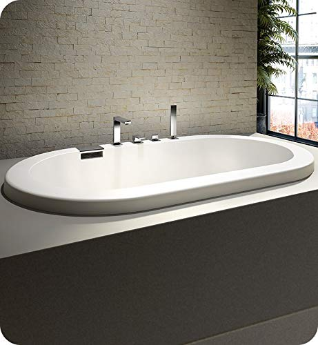 %14 OFF! NEPTUNE TAO bathtub 36x66 with 2 lip, Tonic, White, High Gloss Acrylic