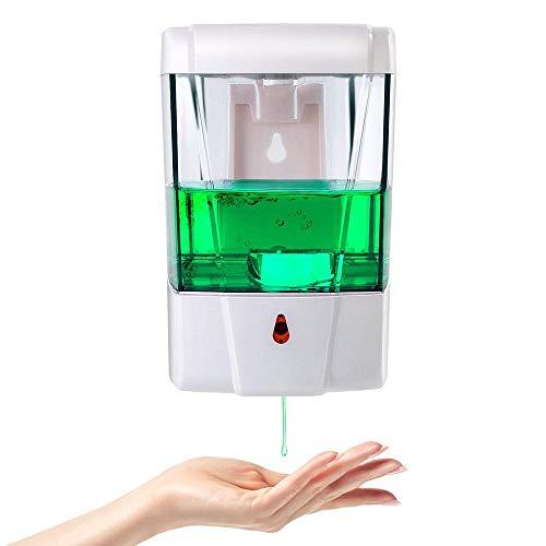 Automatische zeepdispenser sensordispenser 700 ml automatische infrarood bewegingssensor muur lotiondispenser IR sensor Touch-Free zeep lotion pomp voor keuken badkamer hotel