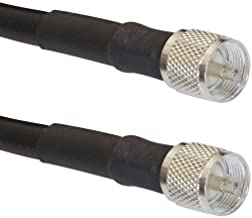 MPD Digital 50 ft Ham / CB Radio Antenna Coax LMR-400 50 ohm Coaxial Cable Antenna Transmission Line PL-259 Connectors MADE IN THE USA