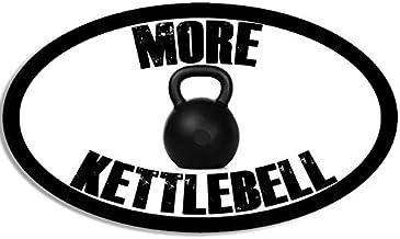 LPF USA Oval More Kettlebell Sticker (Crossfit Kettle)