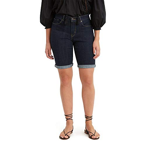 Levi's Women's Bermuda Shorts, Royal Rinse Now $5.96 (Was $44)