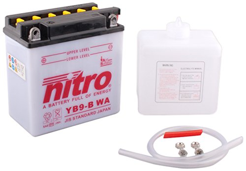 Preisvergleich Produktbild NITRO YB9-B WA -N- Batteries Schwarz (Preis inkl. EUR 7, 50 Pfand)
