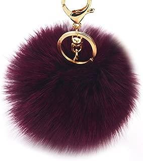Best faux fur bag charm Reviews