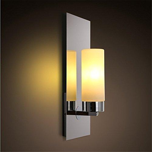 YU-K De eenvoudige gang kandelaar kaars wandlamp glas bar ㎡ kunst wandlamp