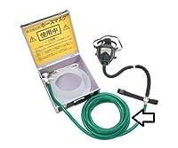 重松製作所 肺力吸引形ホースマスク ビニルホースφ19×10m 61-0475-06