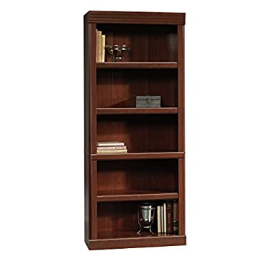 Sauder Heritage Hill Open Bookcase, Classic Cherry