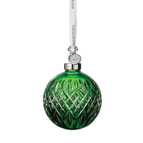 Waterford 2019 Emerald Ball Ornament