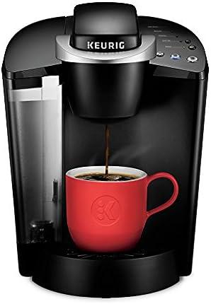 Keurig K-Classic Cafetera de cápsulas K-Cup de una sola porción, 6 a 10 oz, negro