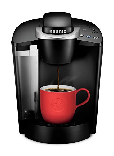 Keurig K-Classic K-50 Coffee Maker, Single Serve K-Cup Pod Coffee Brewer, 6 to 10 Oz. Brew Sizes, Black