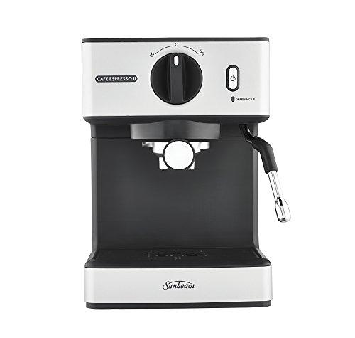 Sunbeam Cafe Espresso Ii, Silver/Black, EM3820