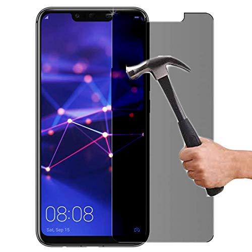 Lapinette in vetro temperato compatibile con Huawei Mate 20 Lite, anti-spione; protezione schermo in vetro temperato Huawei Mate 20 Lite, anti-spione; filtro privacy in vetro temperato