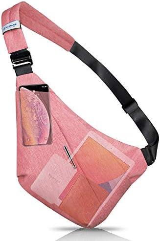 ZOMAKE Anti thief Sling Shoulder Personal Pocket Bag Slim Multipurpose Cross body Bags for Men product image