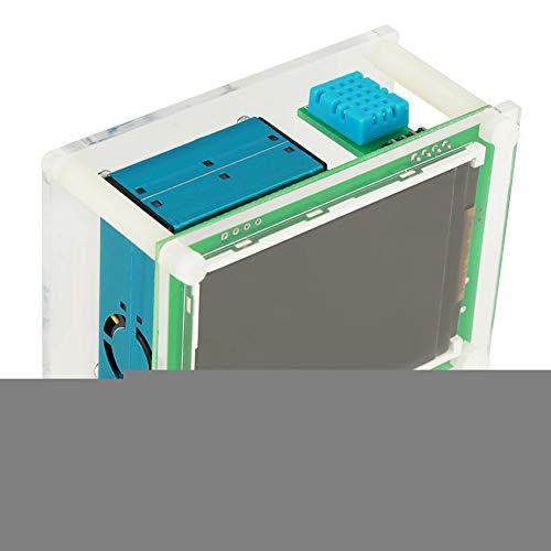 Luftqualitätsdetektor, 2,8 Zoll Digital PM2.5 Multifunktionsmonitor aus Acrylgehäuse + Elektronische Komponenten für Zuhause, Büro, Auto und im Freien