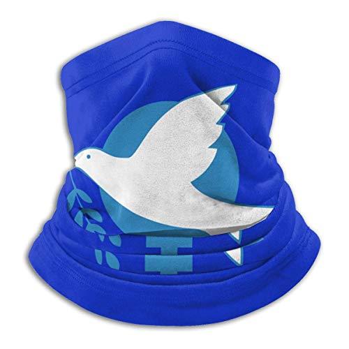 Go Green for Peace Mikrofaser-Halswärmer, Schal, Gamasche, Kopfbedeckung, Gesichtsmaske, Bandanas