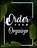 Order FORM Organizer: A Pretty 200 Pages Order Form Organizer to Track and Organize Details Regarding Customer Purchases for Online or Retail Sales with Luxury Neon Frame Soft Cover Finish