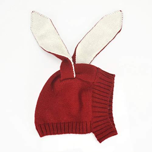 Borlai baby schattige gebreide muts peuter cartoon konijntje muts hoed pet 3-18 maanden