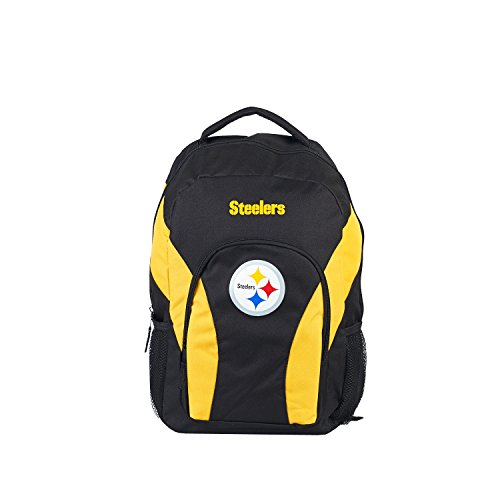 NFL Pittsburgh Steelers 'Draft Day' Backpack, 18' x 5' x 12'