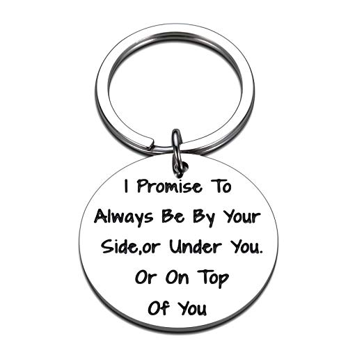 Father's Day Gifts for Husband Boyfriend from Girlfriend Wife Anniversary Wedding Valentine's Day Birthday Christmas Easter Gifts for Him Her Love Keychain