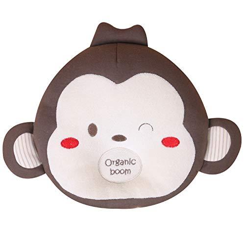 Organic Cotton Baby Head Shaping Pillow(baby, Mongi) Preventing Flat Head