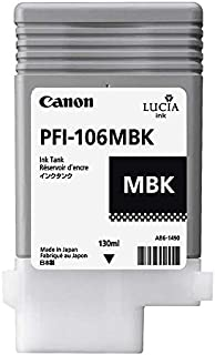 CANON PFI-106MBK, Pigment Ink Tank 130ml / 6620B001 /