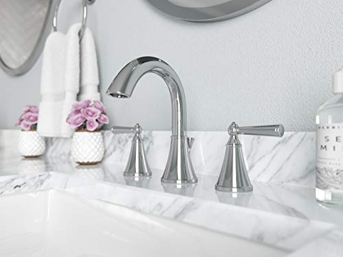 "Pfister LG49GL0C LG49-GL0C Saxton 2-Handle 8"" Widespread Bathroom Faucet in Polished Chrome, 1.2gpm"