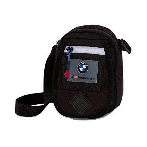 PUMA x BMW M Motorsport Small Mini Portable Shoulder Bag (Black)