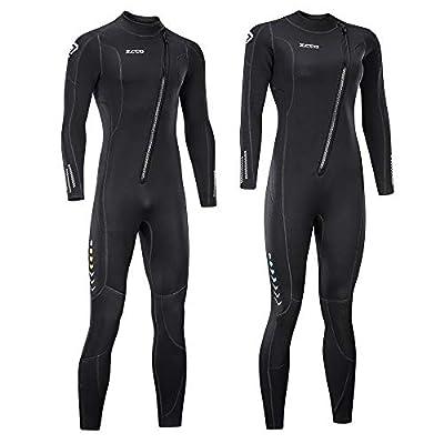 ZCCO Full Body Diving Suit for Men and Women (Men's XX-Large)