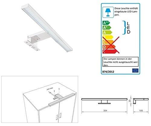 LED-Aufbauleuchte-Chrom-Lichtfarbe-warm-wei-Art-2030-Schrankleuchte-Spiegelschrankbeleuchtung-Spiegelleuchte-Badleuchte