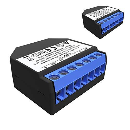 Shelly 2.5 Dual WLAN Schalter mit Messfunktion UL Zertifiziert 2er Pack