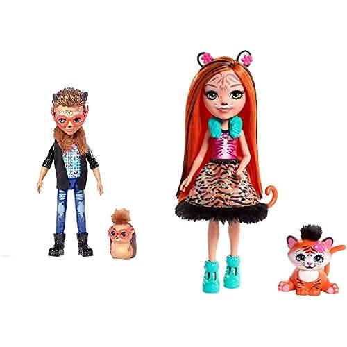 Enchantimals Hixby Hedgehog, Muñeca, Multicolor (Mattel Fjj22) + Muñeca Tanzie...