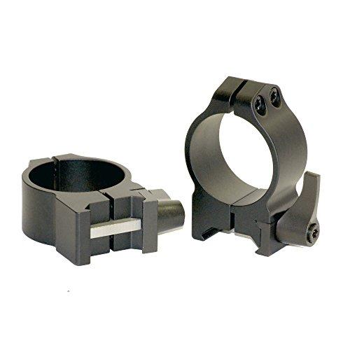 Warne Scope Mounts 30mm, Medium 30 mm, QD, mittelgroße Matte Ringe, Mehrfarbig, Einheitsgröße