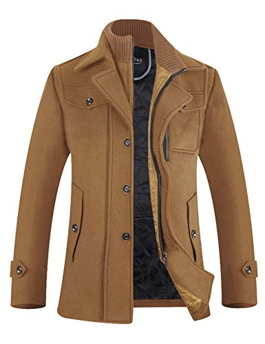 Top 10 Best Mens Wool Winter Coat Comparison