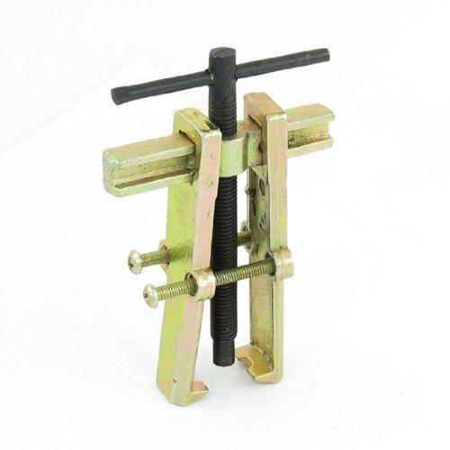 sourcing map 75mm Brass Metall 2 Fuß Zieher Werkzeug Lagerabzieher Lager für Roller Motorrad de