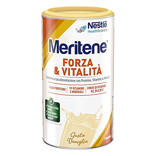 MERITENE FORZA & VITALITA' polvere - GUSTO VANIGLIA - Barattolo 270g