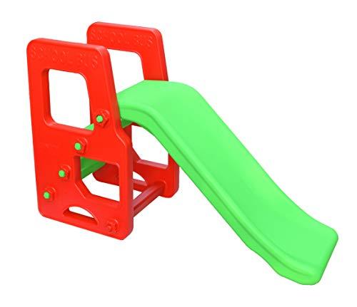 Her Home Garden Slide for Kids - Playgro School Bus Slide -for Boys and Girls Perfect Slides / Toys for Home, Indoor or Outdoor (My School Bus Slide)