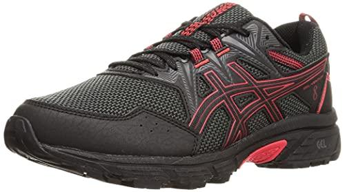 ASICS Gel-Venture 8, Zapatillas de Running Hombre, Black Electric Red, 45 EU