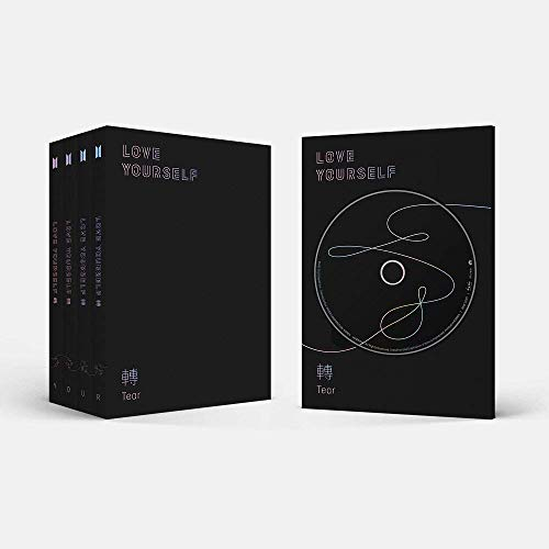 BTS K-POP Álbum Love Yourself Tear Your Original - VERSÃO ALEATÓRIA