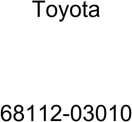 TOYOTA 68112-03010 Door Outlet SALE Assembly Sales Sub Glass