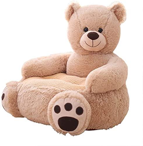 YONGJUN Sofá para NiñOs Niños Sofá Sofá Sofá Sofá Aprendizaje Sentado Muebles para Bebé Soporte para Asiento Sofá para Niños (Color: Oso, Tamaño: 50x50x45cm) (Color : Bear, Size : 50x50x45cm)