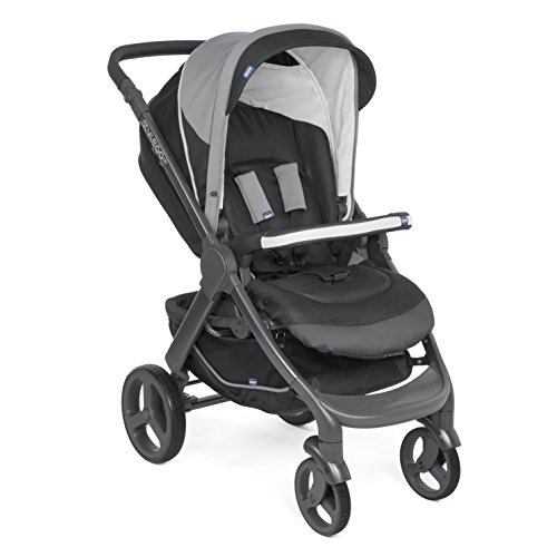 Chicco 08079759510000 Kinderwagen Stylego Up Crossover, schwarz