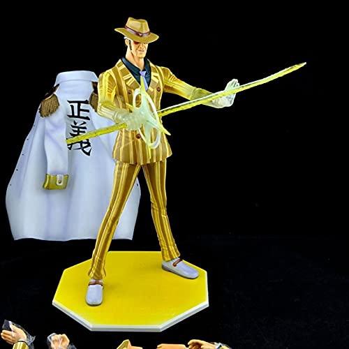 dzj Anime One Piece Borsalino Action Figures 24Cm, PVC Collection Model Toys