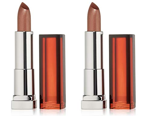 (Pack 2) Maybelline New York Color Sensational Lipcolor, Bronzed 295, 0.15 Ounce