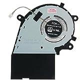 HT ImEx - Versión 12V - Ventilador de refrigeración para CPU compatible con Asus Rog Strix Hero III G731GV (i7-9750H), G731GV (RTX 2060), G731GW
